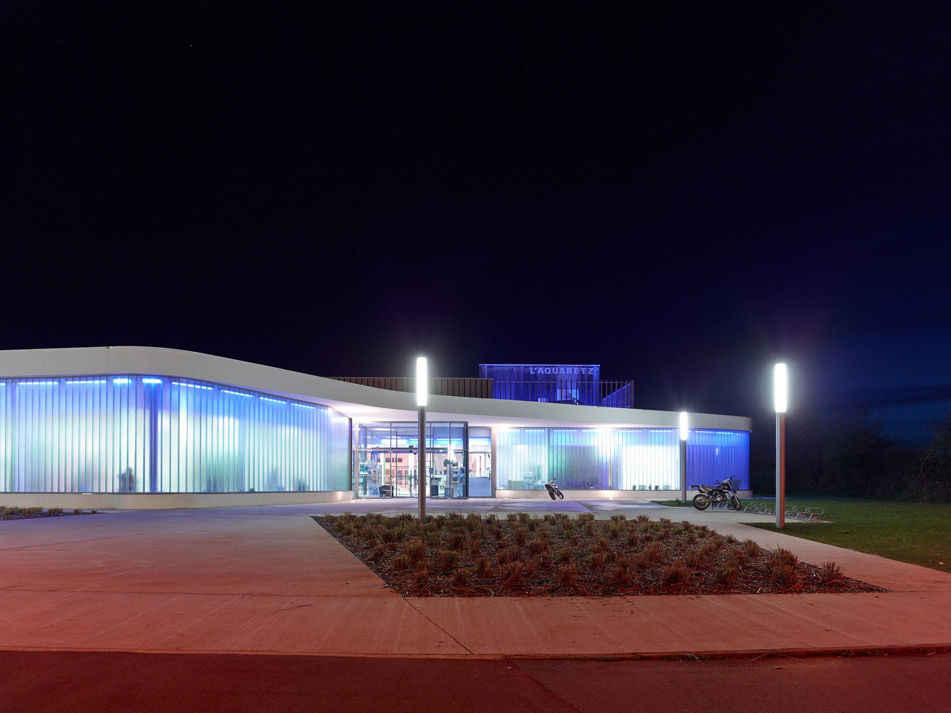 Cap Urbain - Piscine l'Aquaretz à Sainte-Pazanne BVL Architectes (R) S.Chalmeau